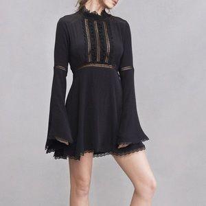 Black For Love and Lemons Willow dress